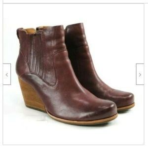 Kork-Ease Shoes - Kork Ease Women's Wedge Booties Size 11 Excellent